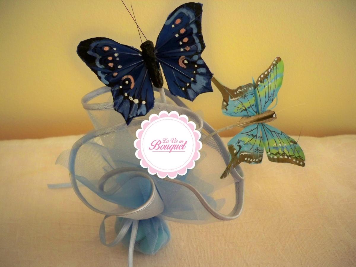 boîte à dragées _ La vie en Bouquet